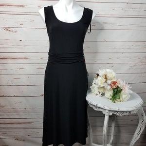 K Studio Collection Sleeveless Black Stretch Dress